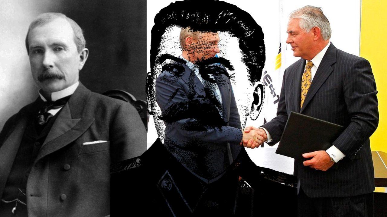 Рокфеллеры, Сталин и факты